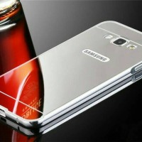 Samsung Galaxy J5 (2015) / J5 (2016) Aluminium Bumper Mirror Case