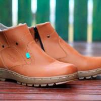 Sepatu Pria Kickers Zipper Boots Kulit Full Up Grade Original Murah #3