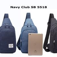Tas Selempang Shoulder Bag Navy Club 5518 Original