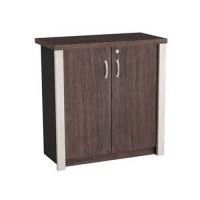 Lemari Arsip pendek pintu kayu BCM 01