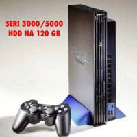 Playstation Ps 2 Sony Fat Harddisk NA Hdd 120 GB Free Stick + Full Gam