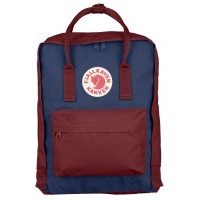 Fjallraven Kanken Royal Blue Ox Red Classic Tas Backpack Original