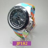 JP182 Colorful - Jam Tangan Pria SKMEI 1016 Waterproof Digital Analog