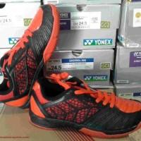 Sepatu Badminton Specs Merlion orange hitam orange original asli murah