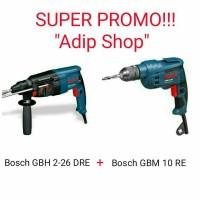 BOR BOSCH / Bosch GBH 2-26 DRE + GBM 10 RE
