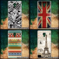 Hard Case XIAOMI Redmi 1S - World Ethnic England Flag Paris Eiffel