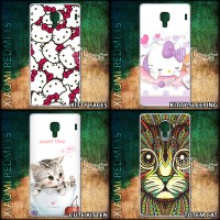 Jual Hard Case XIAOMI Redmi 1S - Cat Lover Kucing Hello Kitty Cute Ethnic Murah