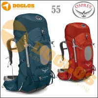 harga [stock 2015!][original]tas Carrier Osprey Ariel 55 Red & Dark Green Tokopedia.com