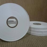 Jual Pita Laundry kain kertas (tafeta) 1/2 inch (13mm) utk Tag Gun Murah