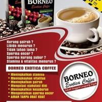 Kopi Stamina Pria - Kopi Borneo - Herbal Atasi Ejakulasi-Dini Syahwat