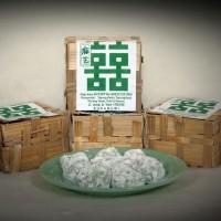 Mochi isi kacang tanah (Aroma suji pandan asli)