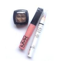 NYX Original - Golden Dune Eyeshadow, Mega Shine, Jumbo Pencil Yogurt