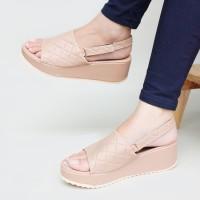 Sandal Platform Wedges Tali Moka