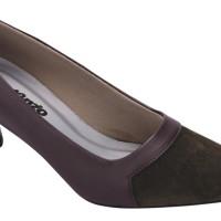 Sepatu Formal Kantor Kulit (anz) SU 050C - Coklat