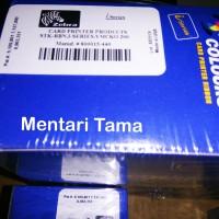 Ribbon Zebra YMCKO Color P330i 800015-440