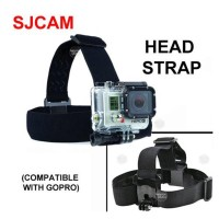 Adjustable Head Strap for GoPro Hero SJ4000 SJ5000 XiaoMi Yi, etc