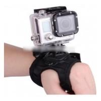 Glove Style Wrist Band with Mount GoPro Hero SJ4000 SJ5000 XiaoMi Yi