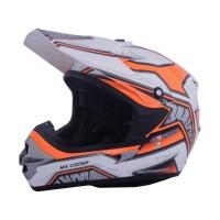 harga Helm Motor Cargloss Murah MXC Motosport Orange White Tokopedia.com