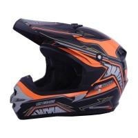 harga Helm Motor Cargloss Murah MXC Motosport Orange Deep Black Tokopedia.com