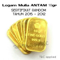 Logam Mulia ANTAM 10 gram LM EMAS