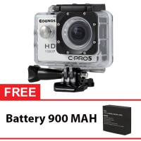 Jual Kamera Digital Onix Cognos Action Camera - Putih + Gratis Battery Murah