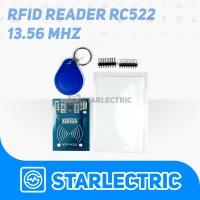 RFID Reader RC522 13.56 MHz Mifare Module + Kartu + Keychain/Tag
