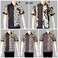 Kemeja Batik Sogan BP330