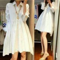 DRESS VADORA/DRESS WHITE/SHORT DRESS/MINI DRESS