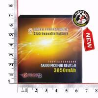Batre/Batrei/Baterai AXIOO PICOPAD 5 GEW 3850mAh GRACE Double Power