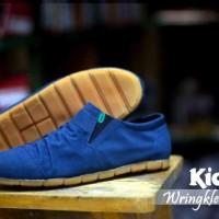 sale kickers wringkle casual flat slop slip sneakers santai formal 2
