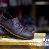 sale kickers wringkle casual flat slop slip sneakers santai formal 1