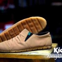 sale kickers wringkle casual flat slop slip sneakers santai formal 4