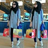 3 In 1 Hijab Aisya Denim