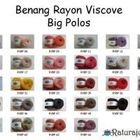 Benang Rajut Rayon Viscove Big