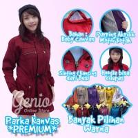 Jaket Parka Wanita Bahan Premium