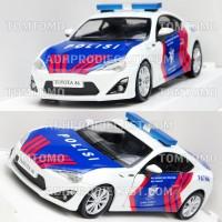 harga Diecast Toyota Miniatur Mobil Patwal Polantas Pjr Polisi Indonesia Tokopedia.com