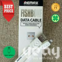 [YEAY Store] REMAX Kabel Data Lightning iPhone (ORI) - WHITE