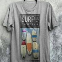 Kaos Pria/Kaos surf at california/kaos my gerage my rules