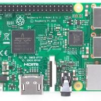 Raspberry Pi 3 Made In UK Element 14 Mini Komputer