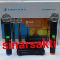 Murah Microphone Wireless Sennheiser E200 ( Handheld )