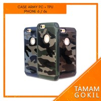 Case Army Iphone 6 / 6s PC +TPU Series