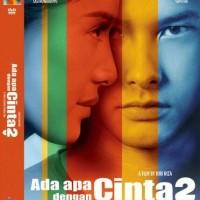 DVD Original Ada Apa Dengan Cinta 2 - AADC2 (With Cover)