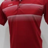 Polo Shirt Baju Pakaian Olahraga Mitre - Dot Merah
