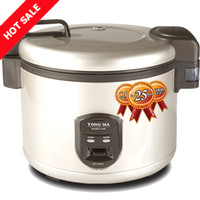 Magic Com Rice Cooker Jumbo YONG MA MC25000 -Black Tinum -Kap 4.5 L