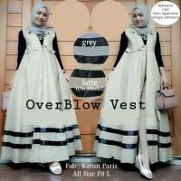 Overblow Vest / Pakaian Baju Dress Wanita Muslimah