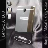 Bumper Case Metal Mirror Alumunium Lenovo A10000