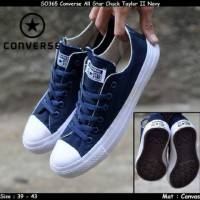 Sepatu converse all star Grade Ori navy mano low