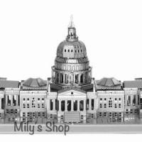 3d Metal Nano Puzzle - Capitol Building