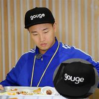 Topi Snapback Running Man Kang Gary Gouge Hitam