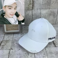 Topi Trucker Kpop Bts V Suga Putih Ring
